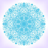 Abstract mandala. Abstarct mandala. Ornament can be used as a greeting card vector illustration