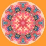 Abstract Mandala-beeld vector illustratie