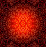 Abstract Mandala Design Pattern Stock Images