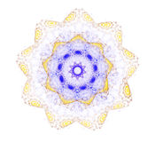 Abstract  Mandala Flower Royalty Free Stock Photography