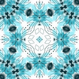 Abstract mandala / kaleidoscope pattern Royalty Free Stock Image
