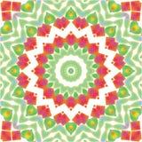 Abstract mandala / kaleidoscope pattern background. Abstract mandala / kaleidoscope symmetrical colorful decoration vector background Stock Images