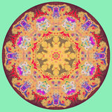 Abstract Mandala picture Royalty Free Stock Photo