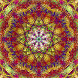 Abstract mandala picture Stock Photos