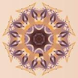 Abstract mandala, vector background Stock Image