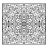 Abstract mandala zentangle Stock Images