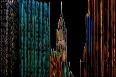 Abstract Manhattan Royalty-vrije Stock Afbeeldingen