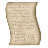 Abstract of manuscript Royalty Free Stock Image