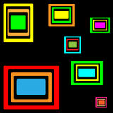 Abstract many colored background Stock Photography