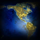 Abstract map of the earth 2D illustration. An abstract map of the earth texture stock image 2D illustration Stock Photography