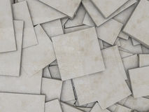 Abstract marble geometric background from cubes. 3D Royalty Free Stock Photo