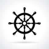 Abstract maritime vector icon Stock Photos