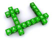 Abstract marketing teken Royalty-vrije Stock Foto