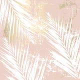 Abstract Marmeren Gouden Patroon vector illustratie