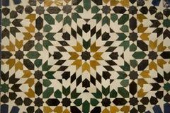 Abstract Marokkaans mozaïek Stock Fotografie