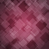 Abstract maroon background with rhombus Royalty Free Stock Photos