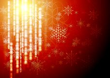 Abstract X-mas background. Vector illustration. Merry Christmas! Abstract shiny background with snowflakes. Eps 10 vector design Stock Photos