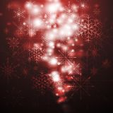 Abstract X-mas background. Vector illustration. Merry Christmas! Abstract sparkling background with snowflakes. Eps 10 vector design Stock Images