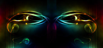 Abstract mask Stock Photography
