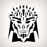 Abstract Mask, Tribal Style Royalty Free Stock Images