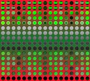 Abstract matrix background Stock Photo