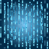 Abstract matrix background Stock Images