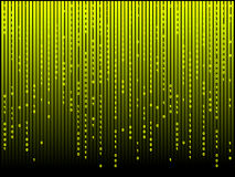Abstract matrix computer background Stock Photo