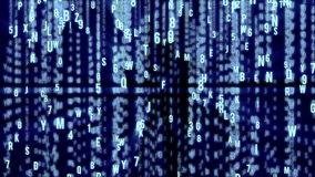 Abstract Matrix Motion Background stock video
