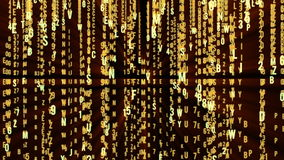 Abstract matrix motion background stock footage