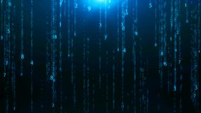 Abstract matrix numbers background. Abstract background Stock Photos