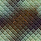 Abstract matrix pattern on geometric background. Royalty Free Stock Photos