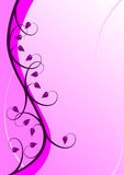 Abstract Mauve Floral Background. An abstract mauve floral design with room for text. The additional format is an EPS vector which can be resized to any royalty free illustration