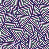 Abstract Maya Dark Seamless Pattern. Background Stock Photo