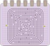 Abstract maze Royalty Free Stock Photos