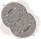Abstract maze Royalty Free Stock Photo