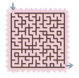 Abstract maze Royalty Free Stock Photography