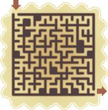 Abstract maze Royalty Free Stock Images