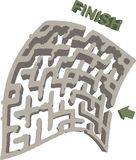 Abstract maze Stock Images