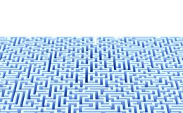 Abstract maze background with copyspace. Isolated. Contains clipping path Stock Image