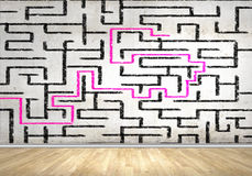 Abstract maze Stock Photos