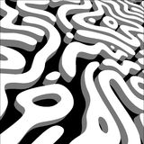 Abstract maze, labyrinth. Abstract maze, 3d labyrinth texture, background vector illustration