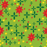 Abstract meadow pattern Royalty Free Stock Photos