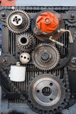 Abstract mechanical background Stock Photo