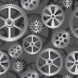 Gears seamless 05 Royalty Free Stock Image