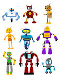 Abstract mechanical robots Stock Photography