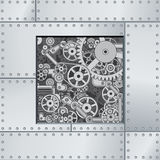 Abstract Mechanism Backdrop Stock Photo