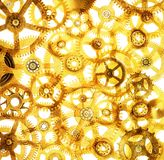 Cogs Abstract Background Royalty Free Stock Images