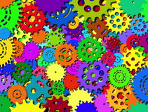 Abstract mechanisme stock footage