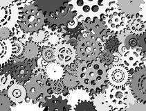 Abstract mechanisme stock video