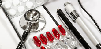 Abstract medical background stock images